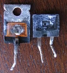 ترانزیستور سوخته